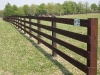 4 Rail Post and Rail Fence