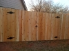 double drive privacy gate