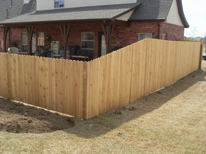 Wood Privacy Fence Builders Of Oklahoma