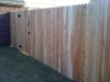 6 foot 1x4x6 cedar dog eard privacy