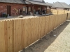 1x4x4 cedar dog eared fence
