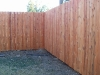 8 foot 1x4x8 cedar dog eared fence pic 1