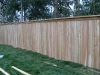 6 foot 1x4x6 cedar cap rail fence pic 2