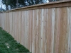 6 foot 1x4x6 cedar cap rail fence pic 3