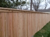 6 foot 1x4x6 cedar cap rail fence pic 4