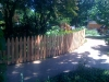 3 foot 1x4x4 cedar picket fence gothic top pic 3