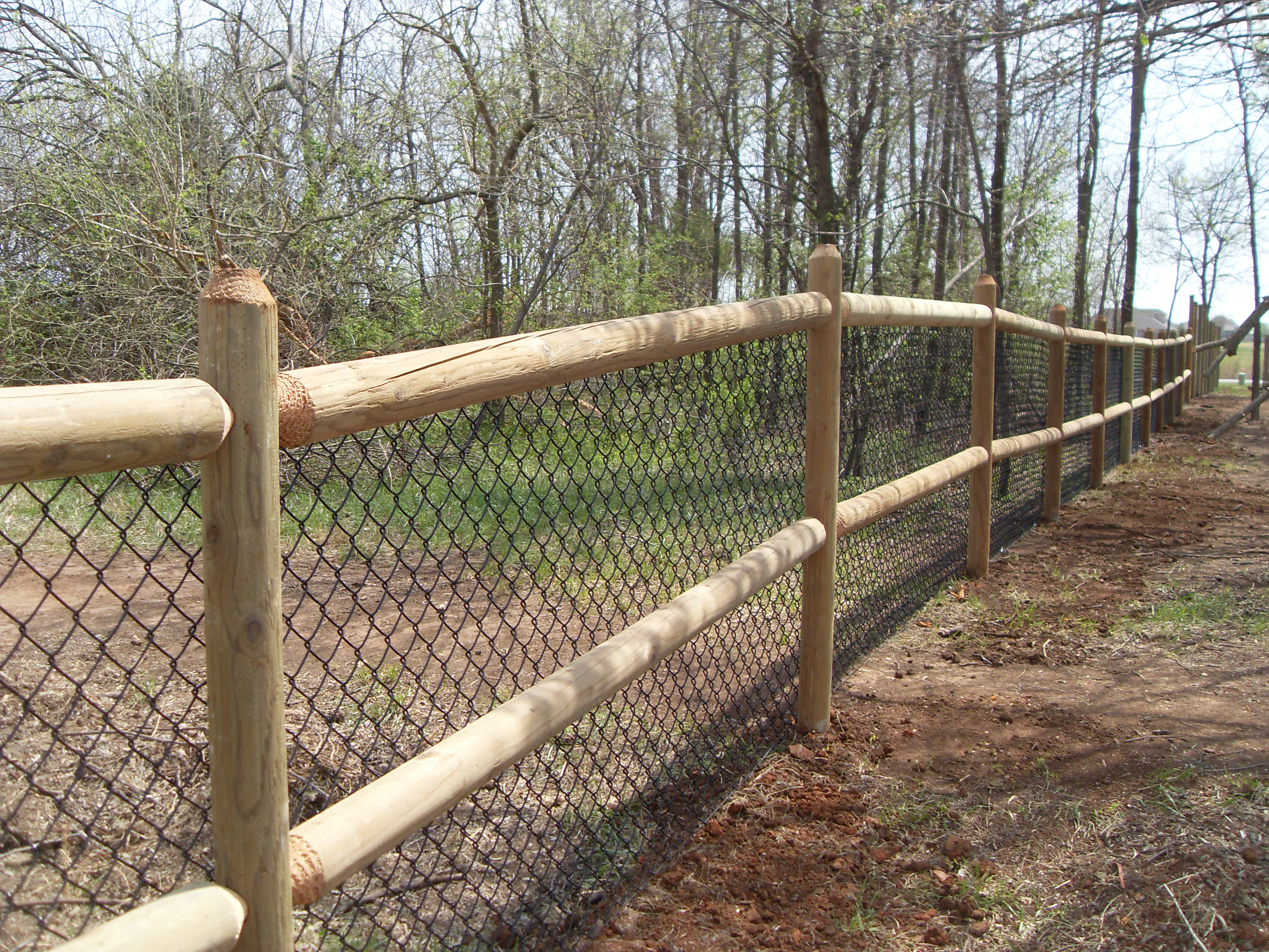 Round Rail Fence Builders Of Oklahoma